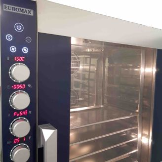 Euromax steam-oven D9806PBH/ACL DIGITAAL - 6 laags - Autocleaning