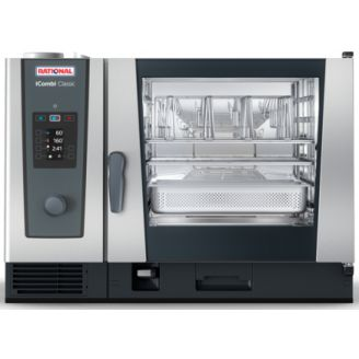 Rational iCombi Classic 6-2/1G - Gas Combisteamer