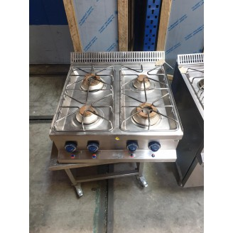 Roeder 4-Pits gas kookunit topunit (OCCASION)