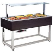 Afinox Essence verwarmd buffet - ES-RED 4/1 GN - bain-marie