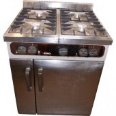 ATAG 4-vlams fornuis met gas oven (OCCASION)