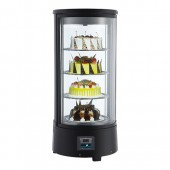 CaterCool koelvitrine - 72 liter, rond
