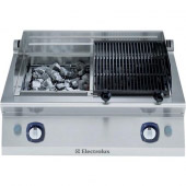 Electrolux gas lavasteengrill - topunit