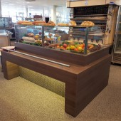 presentatie vitrine/toonbank (Showroom model)