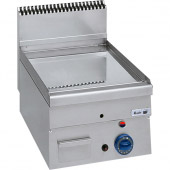 Roeder gas bak-/grillplaat - glad - chroom, BG04601C