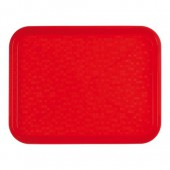 Roltex Dienblad poly - rood - 34,5x26,5 cm