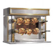 Rotisserie Mini seduction, RVS - messing, 2 spitten, ITN2