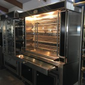 ROTISSERIE US LEGEND, 4 SPITTEN (Showroom model)