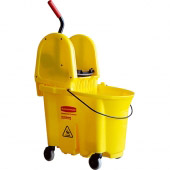 Rubbermaid dweildroogwagen wave brake 33 liter