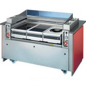 Scholl frontcooking unit, rood, ACS 1300 d3